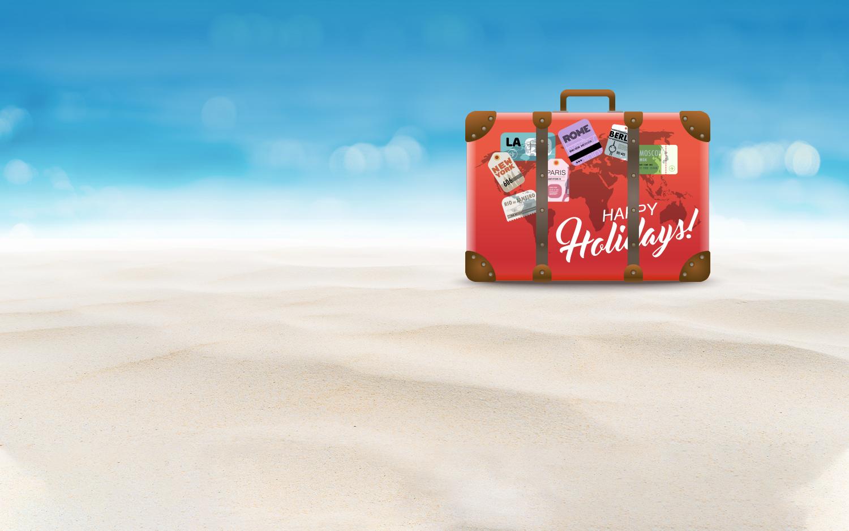 Nous vous souhaitons<br>de très belles vacances<br>